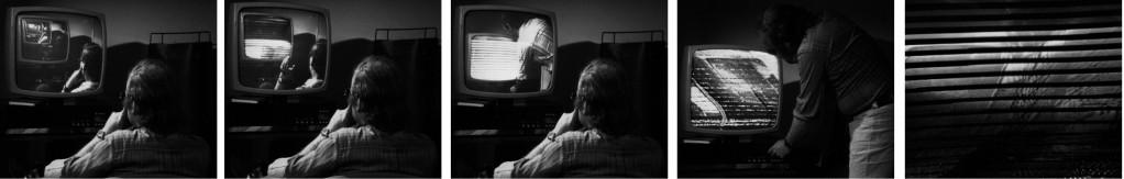 Peter Weibel, »The Endless Sandwich«, 1972, Videostill