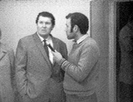 Peter Weibel, »Publikum als Exponat«, »Multi Media 1«, Galerie Junge Generation, April 1969, Videostill.